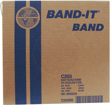 BAND-IT® Band: 201 Stainless Steel Band