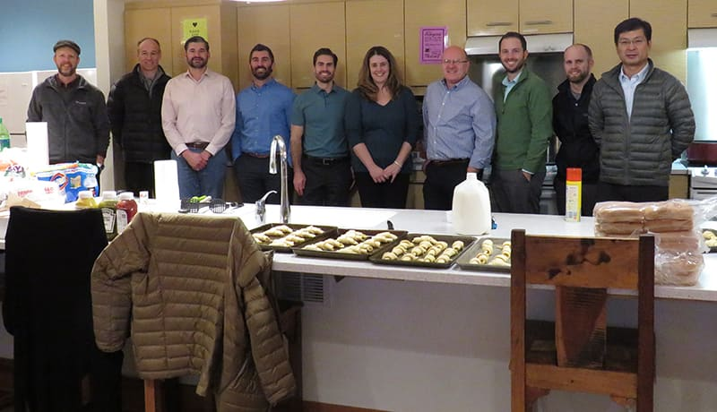 BAND-IT Cooks Dinner for Ronald McDonald House to Celebrate the Holidays