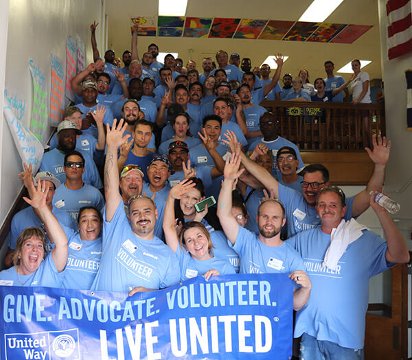 Over 100 Employees Participate in BAND-IT Day of Service