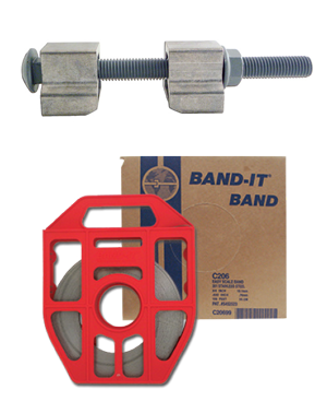 Bolt Clamp and band